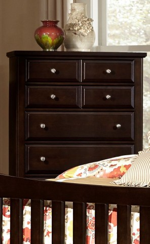Bedford Merlot 5 Drawer Chest