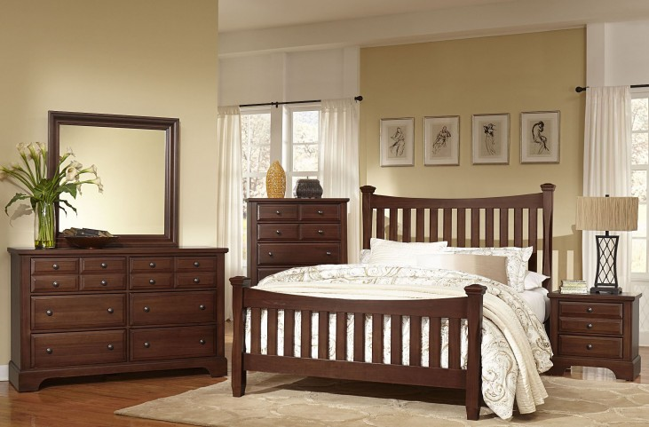 Bedford Cherry Poster Bedroom Set