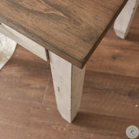 Bear Creek Rustic Ivory And Honey Desk