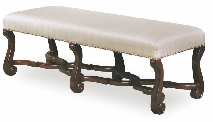 Chateaux Walnut Bench