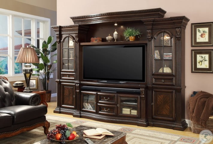 """Bella 67"""" TV Console With Power Center"""