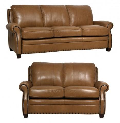 Bennett Italian Leather Living Room Set