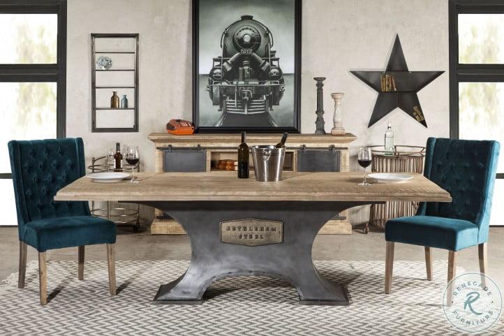 """Bethlehem Antique Oak 90"""" Rectangle Dining Room Set"""