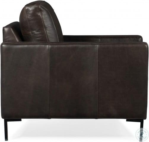 Terrific Coltrane Black Leather Chair Short Links Chair Design For Home Short Linksinfo