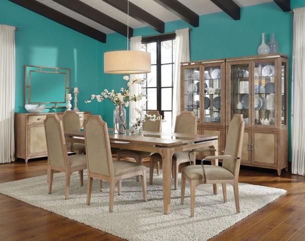 Biscayne West Sand Extendable Dining Room Set