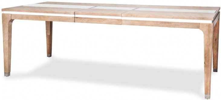 Biscayne West Sand Extendable Leg Dining Table
