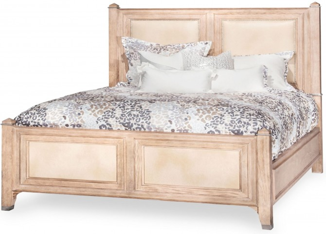 Biscayne West Sand Queen Panel Bed
