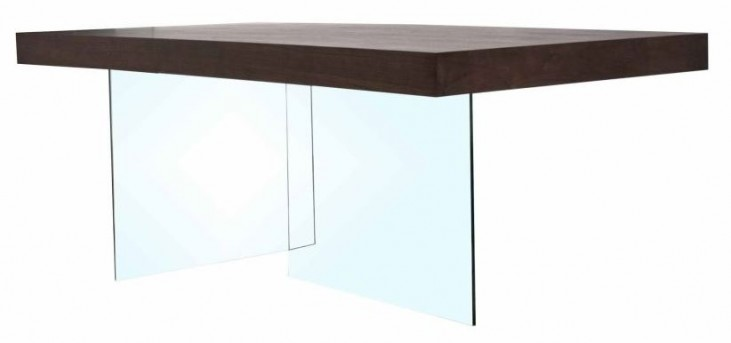 Cleo Blain Dark Walnut Rectangular Dining Table