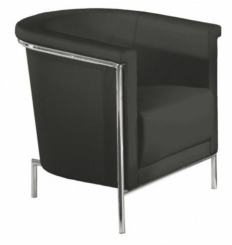Blanca Black Accent Chair