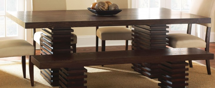 Briana Extendable Rectangular Dining Table