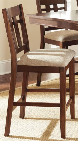 Bolton Medium Oak Counter Chair Set of 2