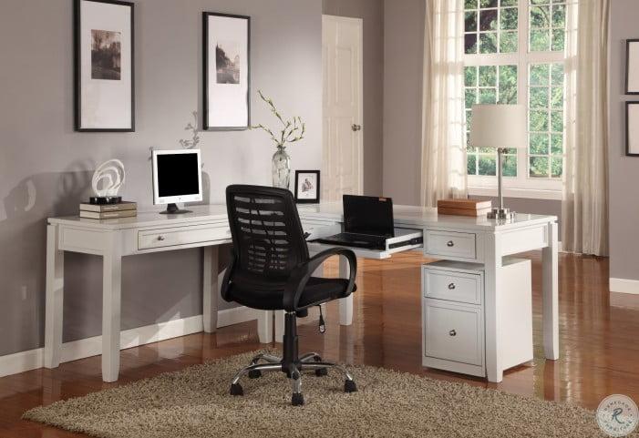 Boca L-Shape Home Office Set