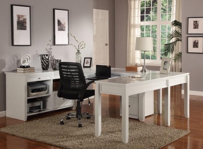 Boca U-Shape Credenza Home Office Set