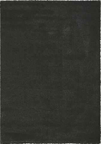 "Boulevard Black Glitz Low Pile Shag 94"" Rug"