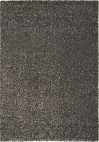 "Boulevard Dark Grey Glitz Low Pile Shag 63"" Rug"