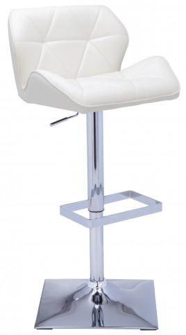 Boulton Adjustable Barstool in White