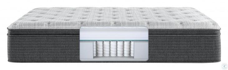 Beautyrest Silver BRS900 Plush Pillow Top Twin Size Mattress