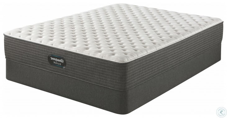 Beautyrest Silver BRS900 Extra Firm Twin Size Mattress With Foundation