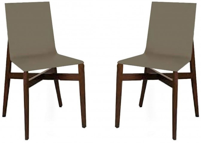 Brio Green Dining Chair Set of 2