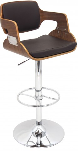 Fiore Brown Barstool