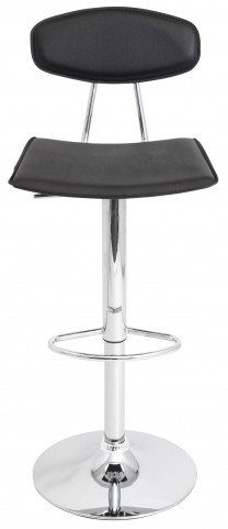 Vector Black Barstool
