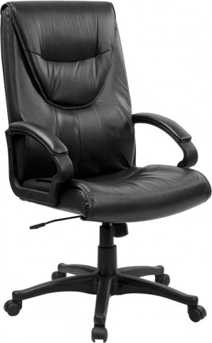 1000189 High Back Black Executive Swivel Office Chair