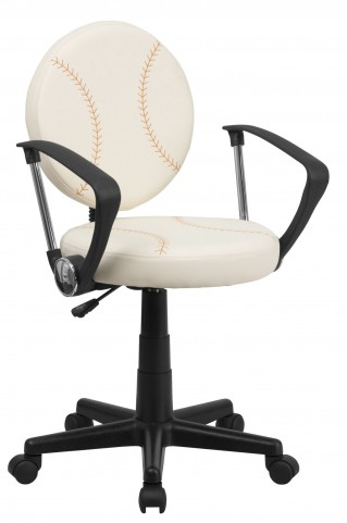 1000347 Baseball Task Arm Chair