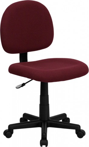 Ergonomic Burgundy Task Chair