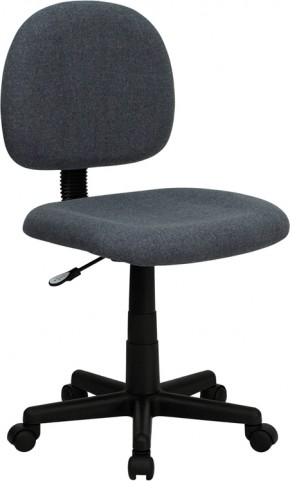 Ergonomic Gray Task Chair
