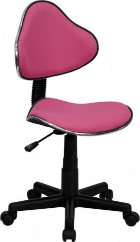 Pink Ergonomic Small Back Task Chair