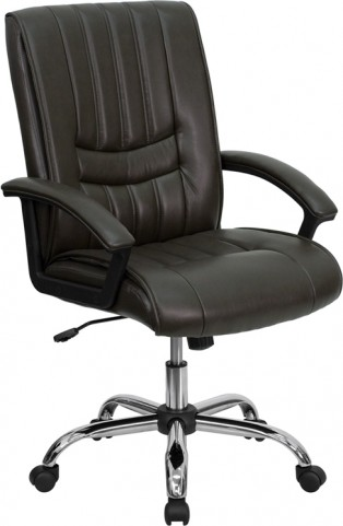 Espresso Brown Manager's Chair