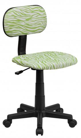 1000540 Zebra Print Computer Chair