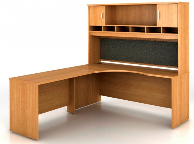 SRC002LOL Series C Light Oak Office Set