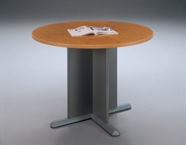 Series A Natural Cherry 42 Inch Round Conference Table