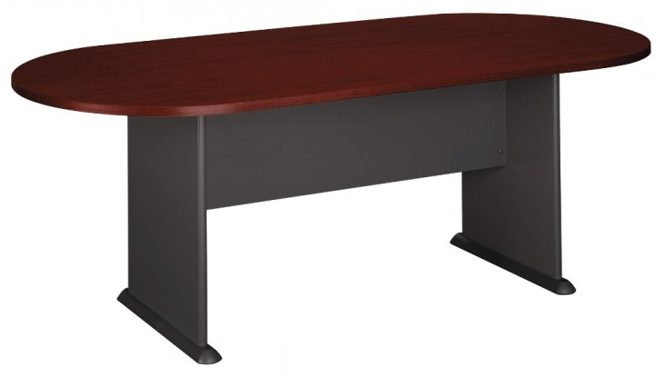 Series C Mahogany 82 Inch Racetrack Conference Table