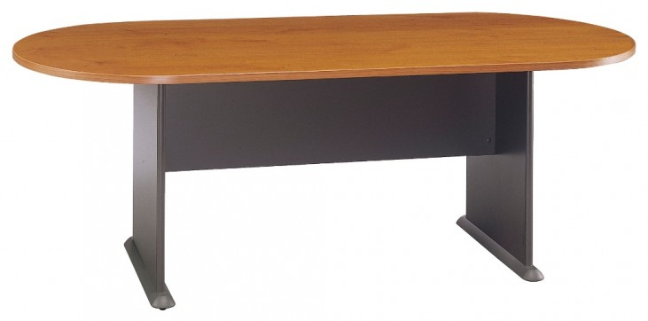 Series A Natural Cherry 82 Inch Racetrack Conference Table