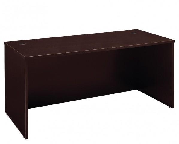 Series C Mocha Cherry 66 Inch Desk Shell
