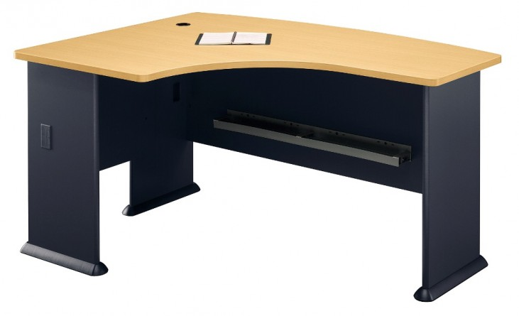 Series A Beech 60 Inch LH L-Bow Desk
