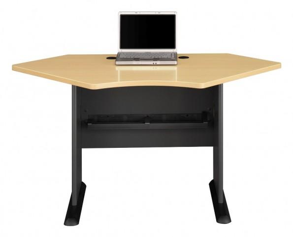 Series A Beech 42 Inch Corner Desk