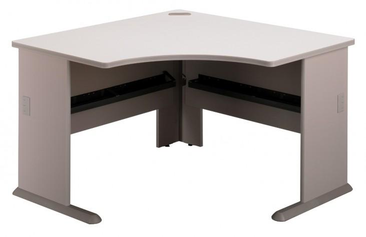 Series A Pewter 48 Inch Corner Desk