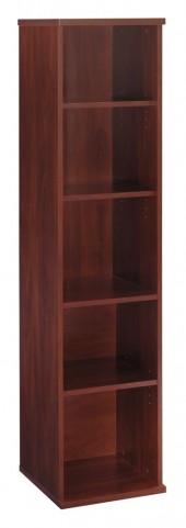 Series C Hansen Cherry 18 Inch 5-Shelf Bookcase