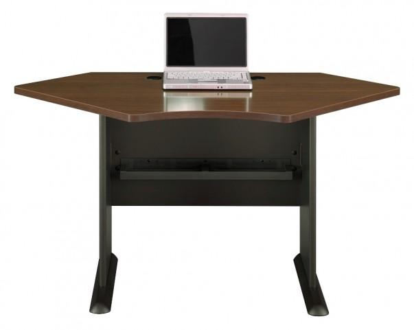 Series A Sienna Walnut 42 Inch Corner Desk