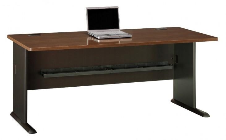 Series A Sienna Walnut 72 Inch Desk