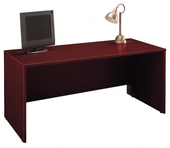 Series C Mahogany 66 Inch Desk Shell