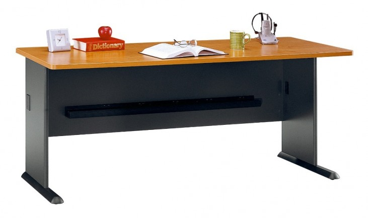 Series A Natural Cherry 72 Inch Desk