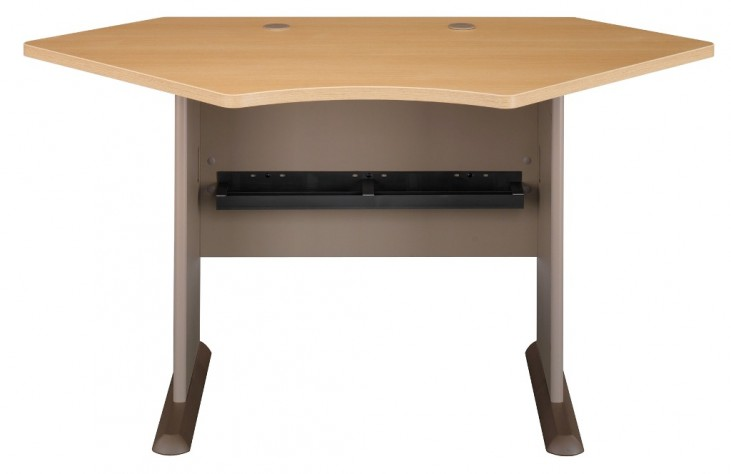 Series A Light Oak 42 Inch Corner Desk