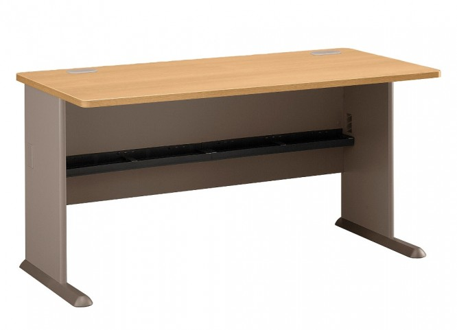 Series A Light Oak 60 Inch Desk