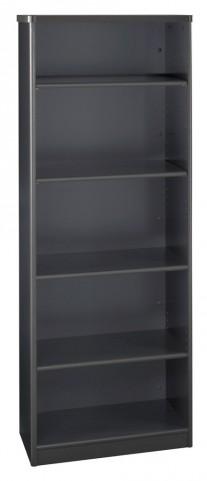 Series A Slate 26 Inch 5-Shelf Bookcase
