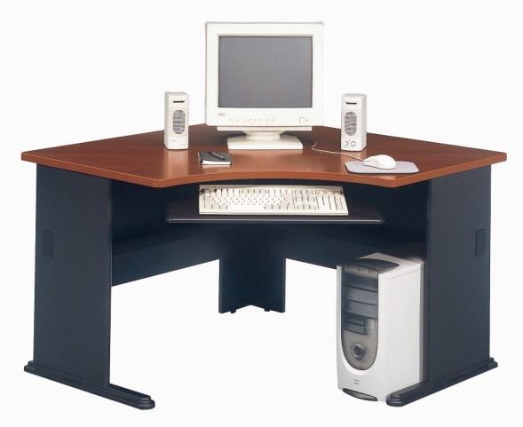 Series A Hansen Cherry 48 Inch Corner Desk
