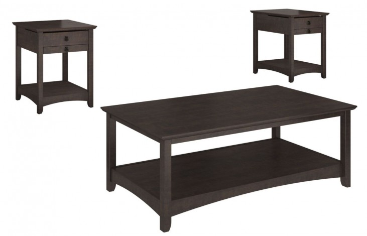 Buena Vista Madison Cherry Attractive Occasional Table Set